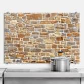 Pannello paraschizzi - Muro di pietre Arizona