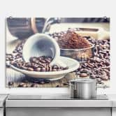 Pannello paraschizzi - Sogni di caffè