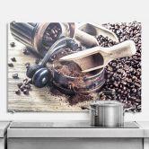 Pannello paraschizzi - Aroma di caffè