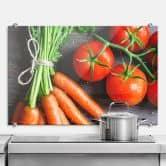 Pannello paraschizzi - Verdura fresca