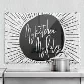 Spatscherm - My kitchen my rules