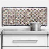 Oriental Tiles 01 - Panorama - Kitchen Splashback