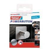 tesa® Powerbutton Haken Classic Eckig