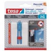 Tesa® zelfklevende spijker, verstelbaar, voor behang - 2 kg per spijker