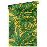 Versace wallpaper non-woven wallpaper Giungla yellow, green