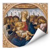 Wallprint W - Botticelli - Maria mit dem Kind undsingenden Engeln