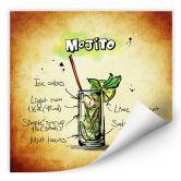 Wallprint Mojito - Rezept
