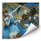 Wallprint Degas - Tänzerinnen in blauen Kostümen