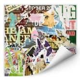 Wallprint W - Abgerissene Poster 2