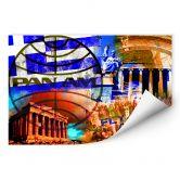 Wallprint PAN AM - Athen