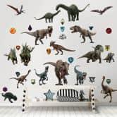 Wandsticker-Set Jurassic World gefallenes Königreich 88-tlg.