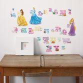 Wandsticker Buchstaben Disney Princess