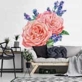 Wall Sticker Rose Harmony XXL