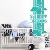 Adesivo murale - striscia sweet dreams