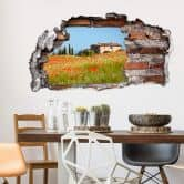 3D wall sticker Tuscany