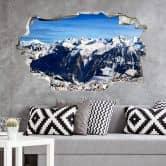 Adesivo 3D – Panorama Alpino
