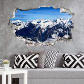 3D Muursticker Alpenpanorama