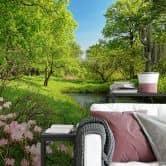 Fototapete Papiertapete Park in the Spring - 366x254 cm