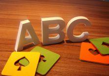 3D Letters - 10 cm Deco Letters 3D letter