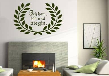 wandspr che lebensweisheiten wandtattoos wall art dekoshop wall seite 4. Black Bedroom Furniture Sets. Home Design Ideas