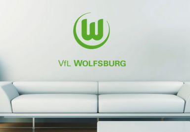 Vfl wolfsburg fanshop wanddeko f r fans wall - Wanddeko fussball ...