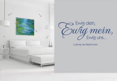 romantische dekoideen f r den gro en hochzeitstag wall. Black Bedroom Furniture Sets. Home Design Ideas