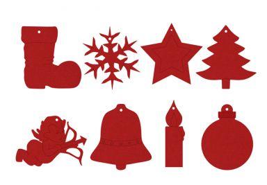 Filz Dekoration F R Weihnachten Anh Nger Und
