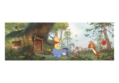 winnie the pooh wall. Black Bedroom Furniture Sets. Home Design Ideas