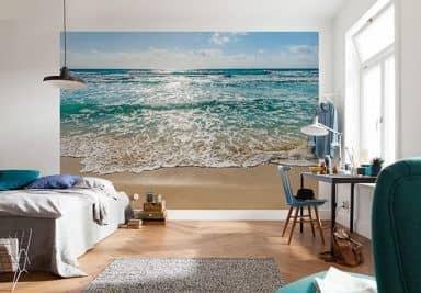 fototapeten mit strand und meermotiven wall. Black Bedroom Furniture Sets. Home Design Ideas