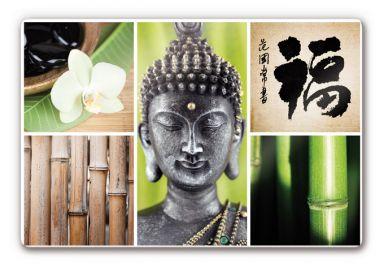 glasbilder mit buddha motiven wall. Black Bedroom Furniture Sets. Home Design Ideas