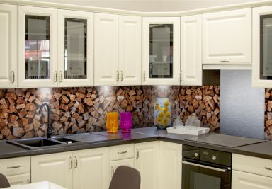 wanddecoraties keukenachterwanden shop wall. Black Bedroom Furniture Sets. Home Design Ideas