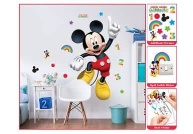 micky maus fanshop kinderzimmer deko von disney wall. Black Bedroom Furniture Sets. Home Design Ideas