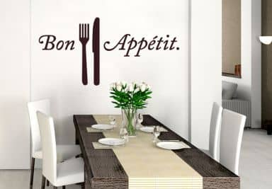 wandtattoo f r k chen k chendeko wall art wandtattoo. Black Bedroom Furniture Sets. Home Design Ideas