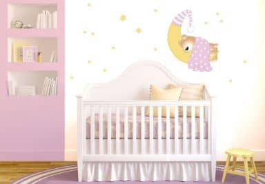 Muurstickers baby kinderen shop 2 wall - Wandtattoo fur babyzimmer ...