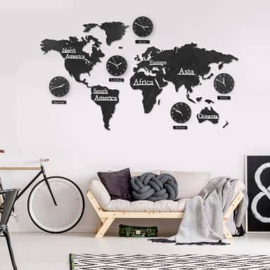 Wanduhren in vielen Designs online kaufen | wall-art.de
