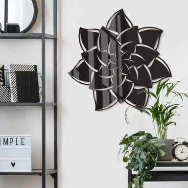 Acryldeko Mandala Blume 02