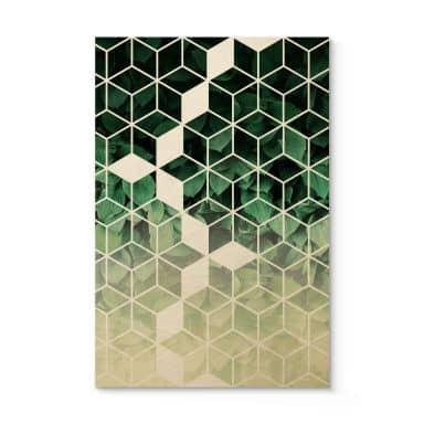 Holzbild Fredriksson - Natur trifft auf Geometrie