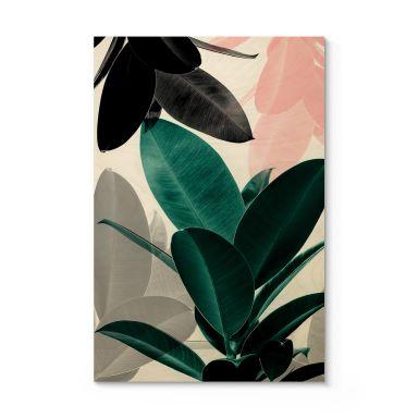 Holzposter Sisi & Seb - Blätterspiele