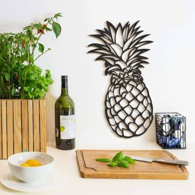 MDF Decoratie Ananas
