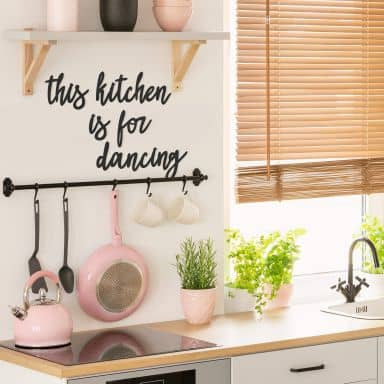 MDF Decoratie This Kitchen is for Dancing