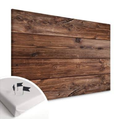 Tableau en liège - Toile - Planches de bois 02
