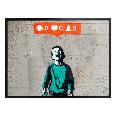Poster Banksy - Nobody likes me