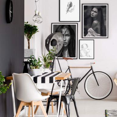 Poster-Set Grey Harmony