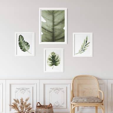 Poster-Set Grüne Natur