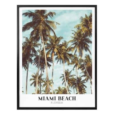 Poster - Miami Beach - Florida