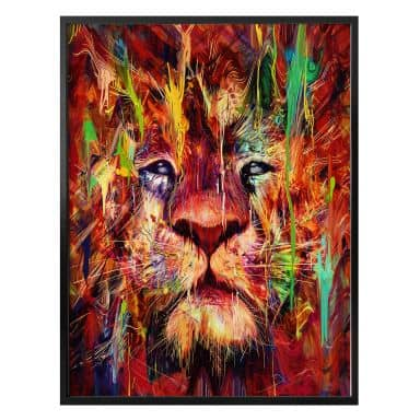 Poster Nicebleed - Lion Red