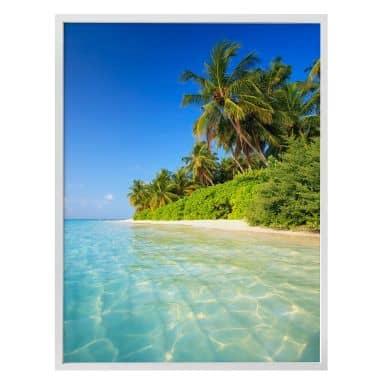 Poster Colombo – Die Malediven