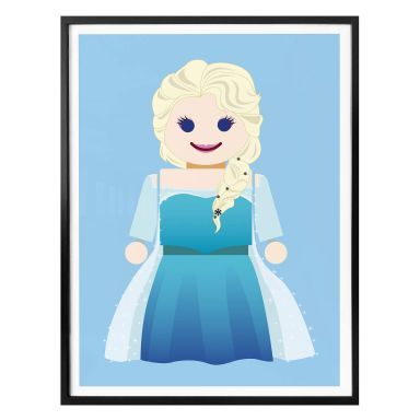 Poster Gomes - Elsa Frozen toy