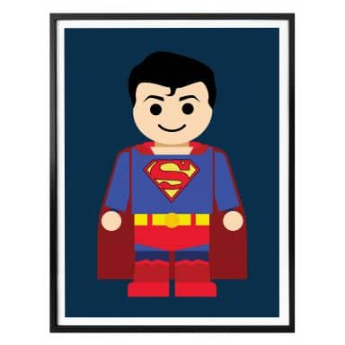 Poster Gomes - Superman toy