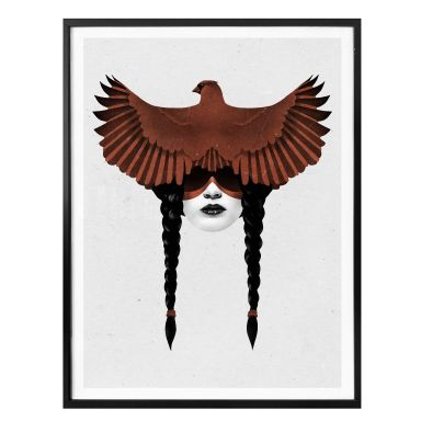Poster Ireland - Dark Cardinal